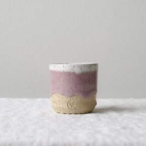 Pink Speckled Cup - Espresso