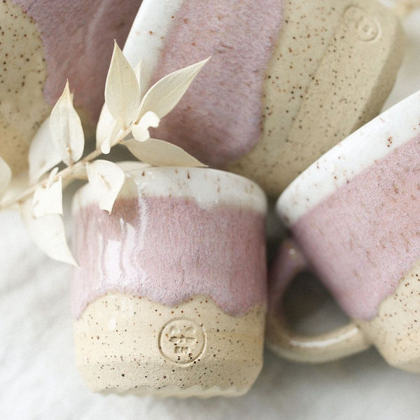 Pink Speckled Mug - Small