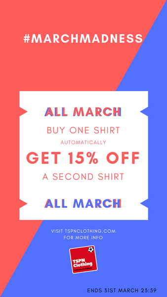 TSPN Clothing - March Madness