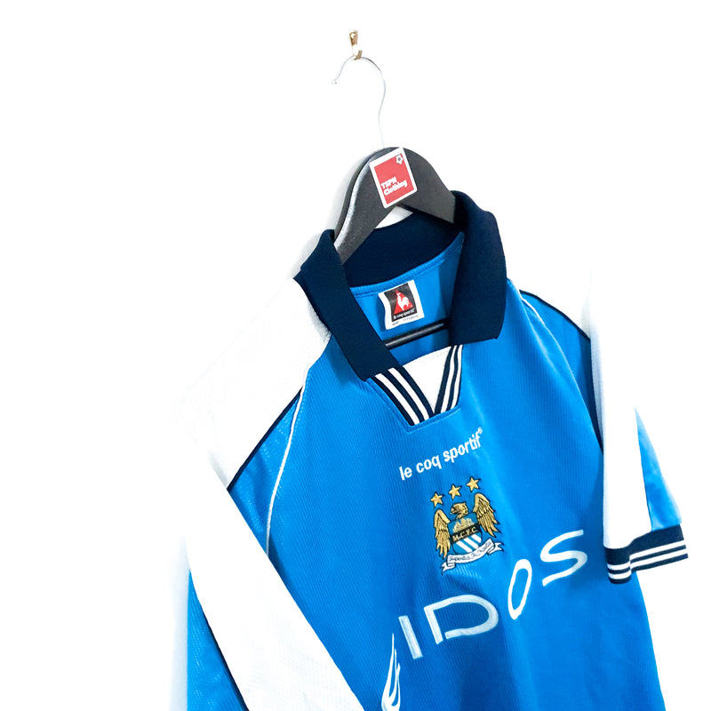 TSPN Calcio - Manchester City home football shirt 1999/01