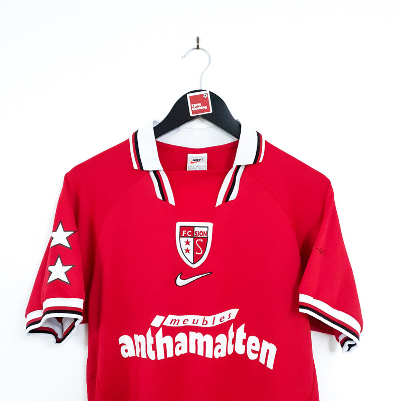 TSPN Calcio - FC Sion away football shirt 1998/00