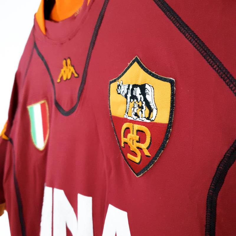 AS Roma home football shirt 2001/02 - TSPN Calcio