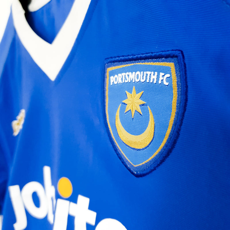 Portsmouth home football shirt 2010/11 - TSPN Calcio