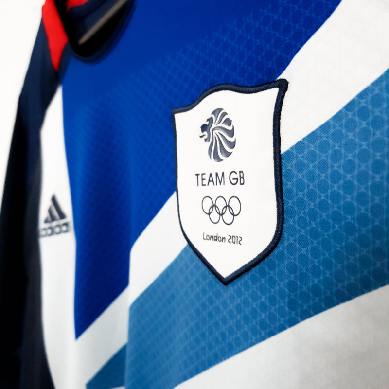 TSPN Calcio - Team GB Olympics home football shirt 2012