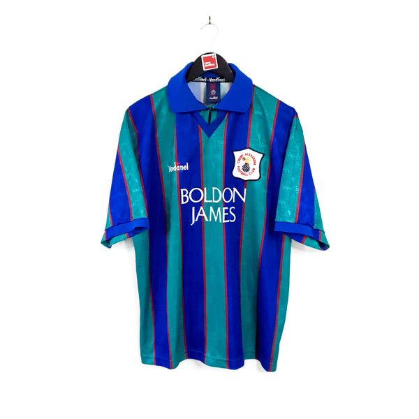 TSPN Calcio - Crewe Alexandra away football shirt 1995/96