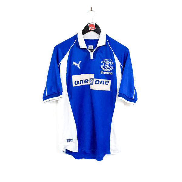 TSPN Calcio - Everton home football shirt 2000/02
