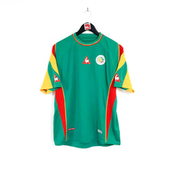 TSPN Calcio - Senegal away football shirt 2004/06