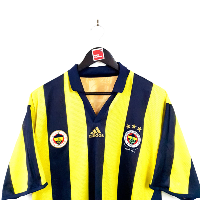 TSPN Calcio - Fenerbahce centenary football shirt 2006/07