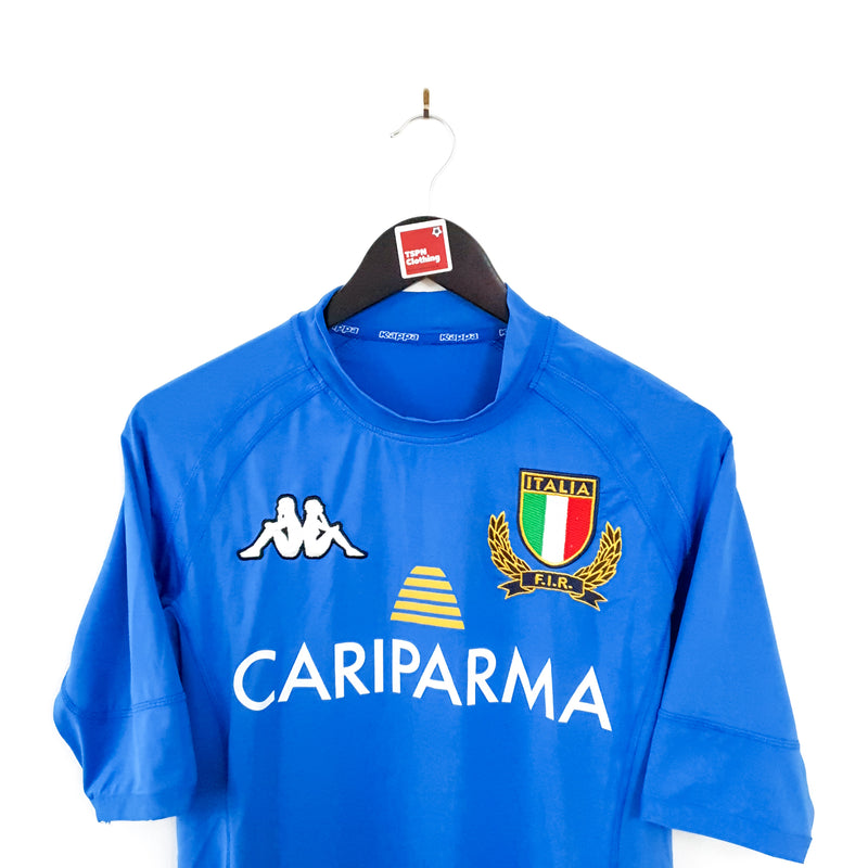 Italy home rugby shirt 2009/10 - TSPN Calcio