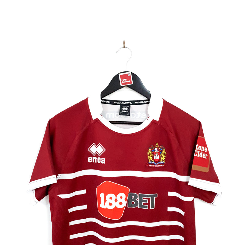 TSPN Calcio - Wigan Warriors home rugby shirt 2017