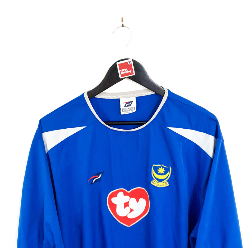 TSPN Calcio - Portsmouth home football shirt 2003/05