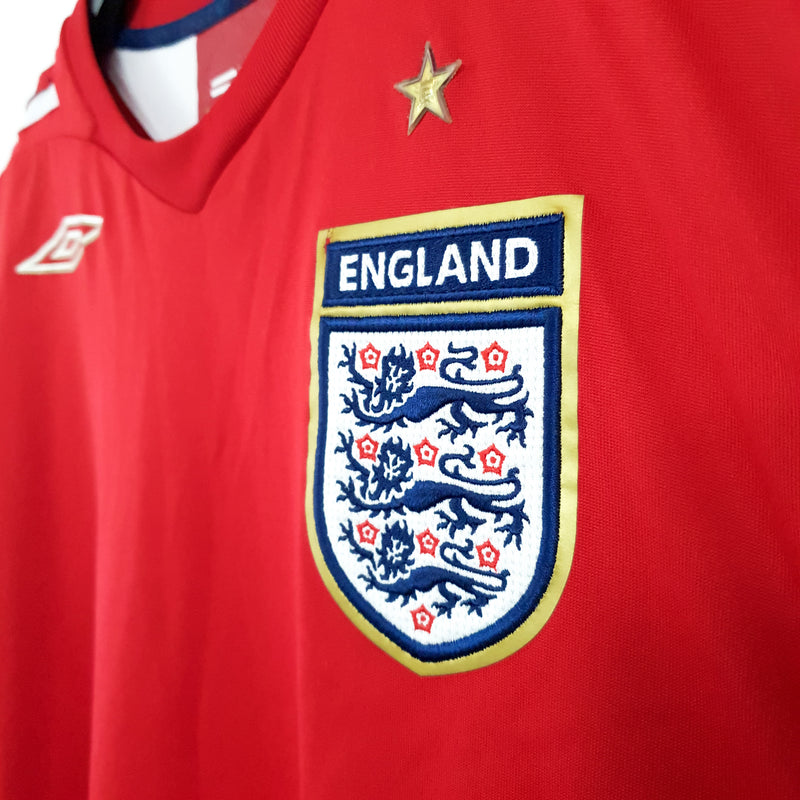 TSPN Calcio - England away football shirt 2006/08