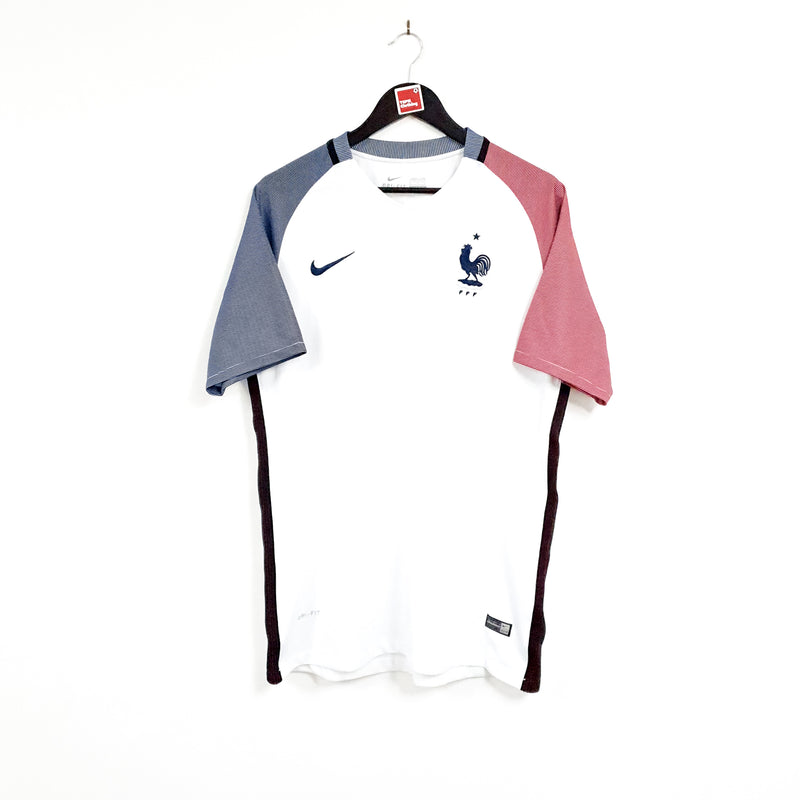 TSPN Calcio - France away football shirt 2016/17