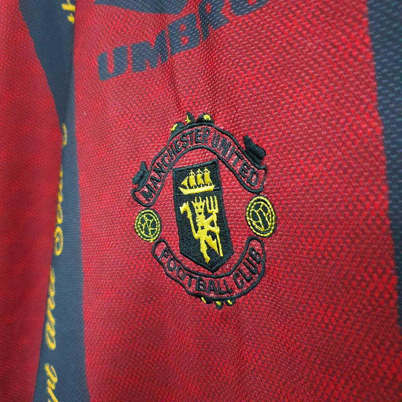 TSPN Calcio - Manchester United training football shirt 1996/97