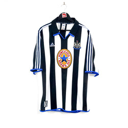 TSPN Calcio - Newcastle United home football shirt 1999/00