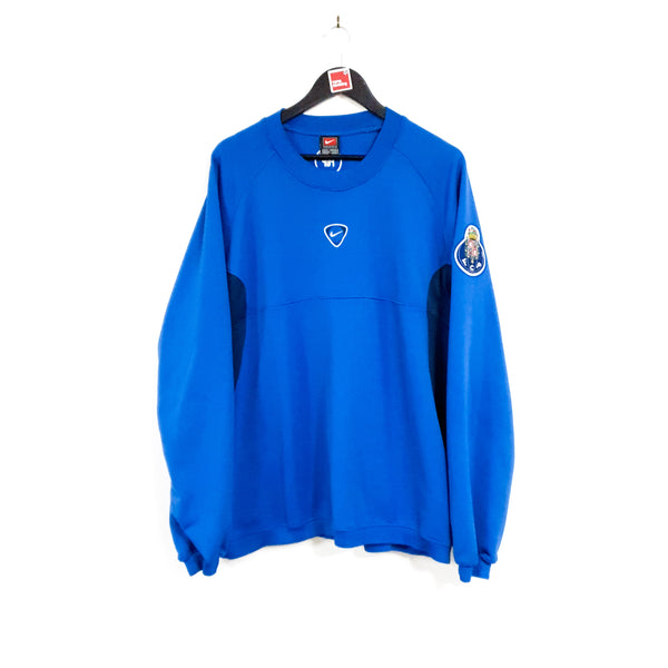 TSPN Calcio - FC Porto training football sweatshirt 2001/02