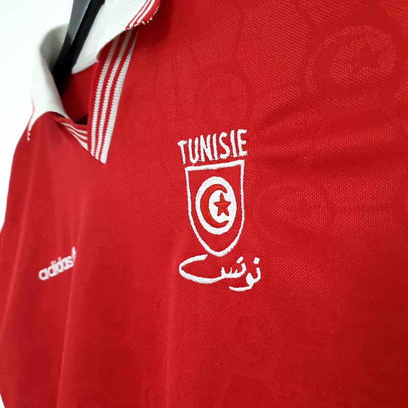 TSPN Calcio - Tunisia away football shirt 1992/94