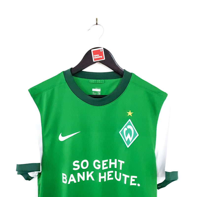 TSPN Calcio - Werder Bremen home football shirt 2009/10