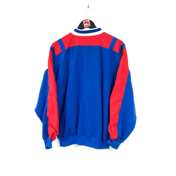 TSPN Calcio - Glasgow Rangers training football sweatshirt 1988/89