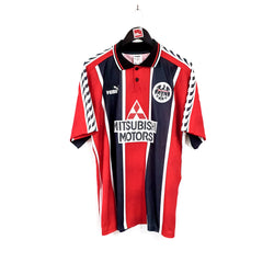 TSPN Calcio - Eintracht Frankfurt home football shirt 1996/98