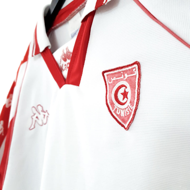TSPN Calcio - Tunisia home football shirt 1995/96