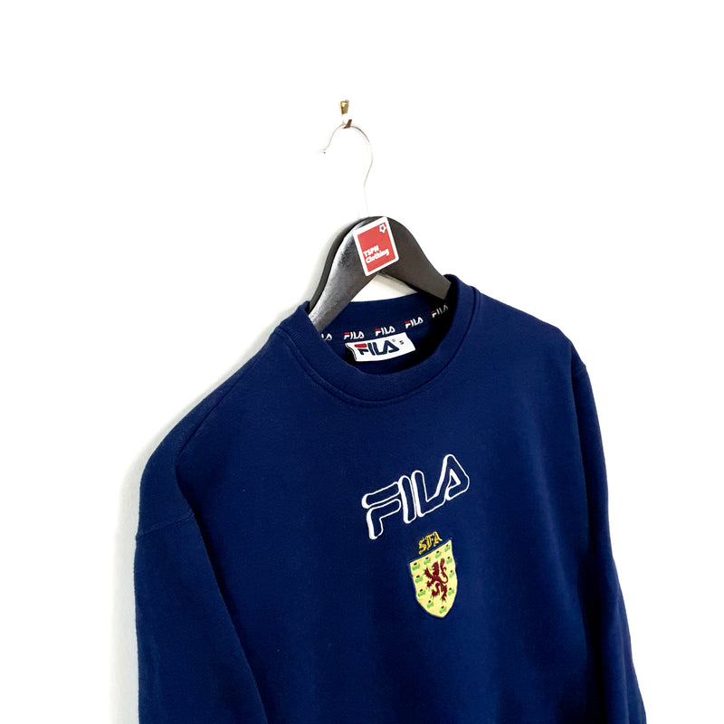 TSPN Calcio - Scotland training football sweatshirt 2000/02