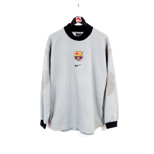 TSPN Calcio - Barcelona goalkeeper football shirt 2001/02