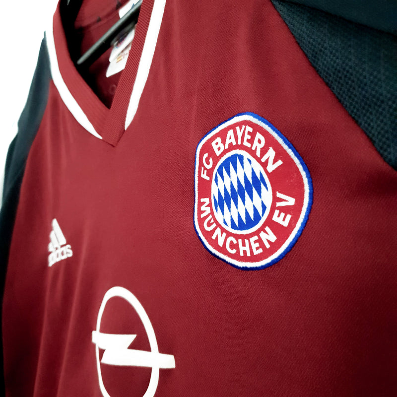 TSPN Calcio - Bayern Munich home football shirt 2001/02