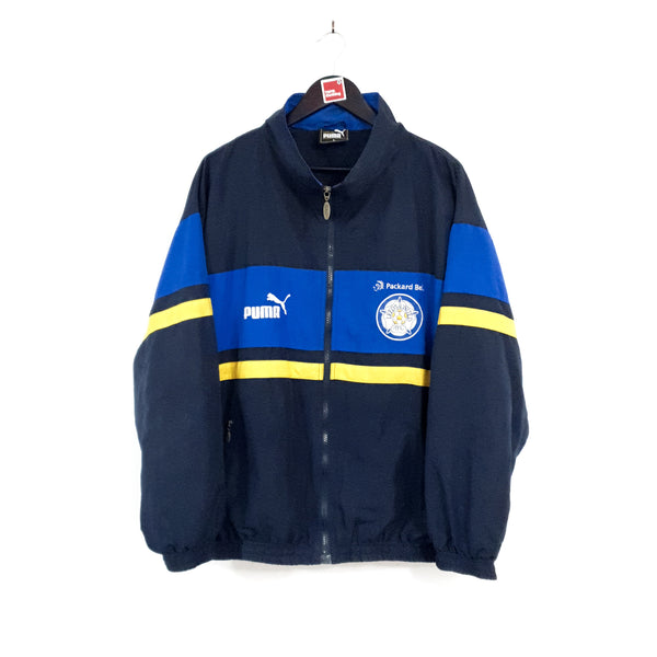 TSPN Calcio - Leeds United training football jacket 1996/98