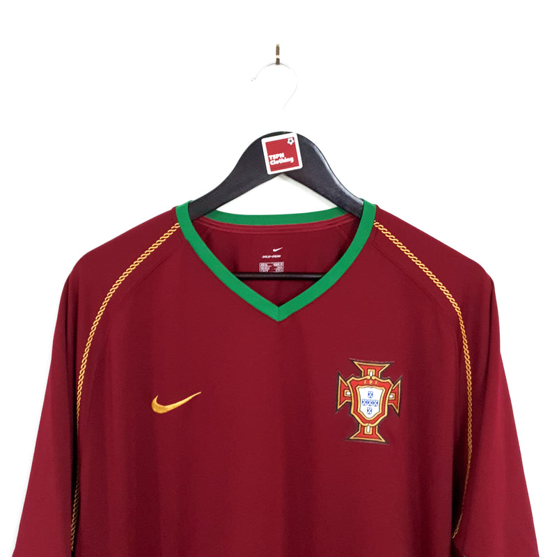 TSPN Calcio - Portugal home football shirt 2006/08