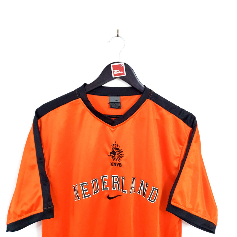 TSPN Calcio - Netherlands training football shirt 2002/04