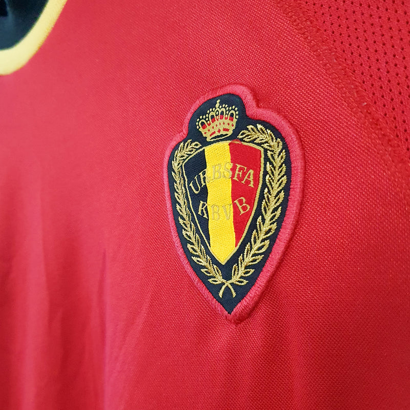 TSPN Calcio - Belgium home football shirt 2000/02