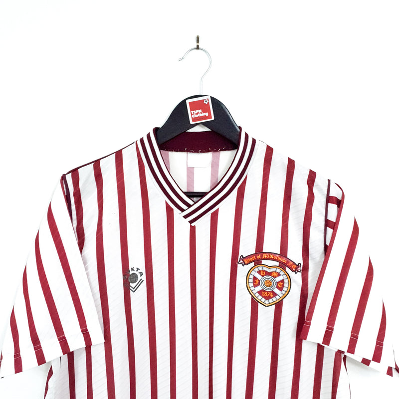 TSPN Calcio - Heart of Midlothian away football shirt 1988/90