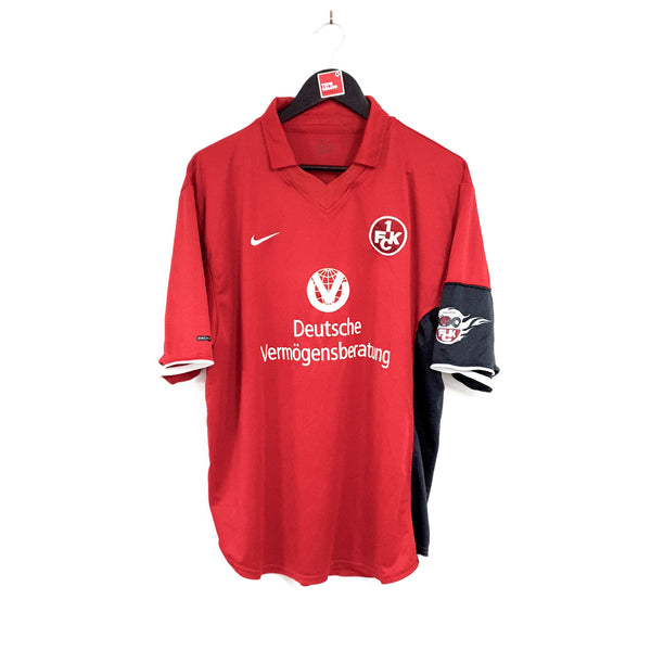 TSPN Calcio - Kaiserslautern home football shirt 2000/01