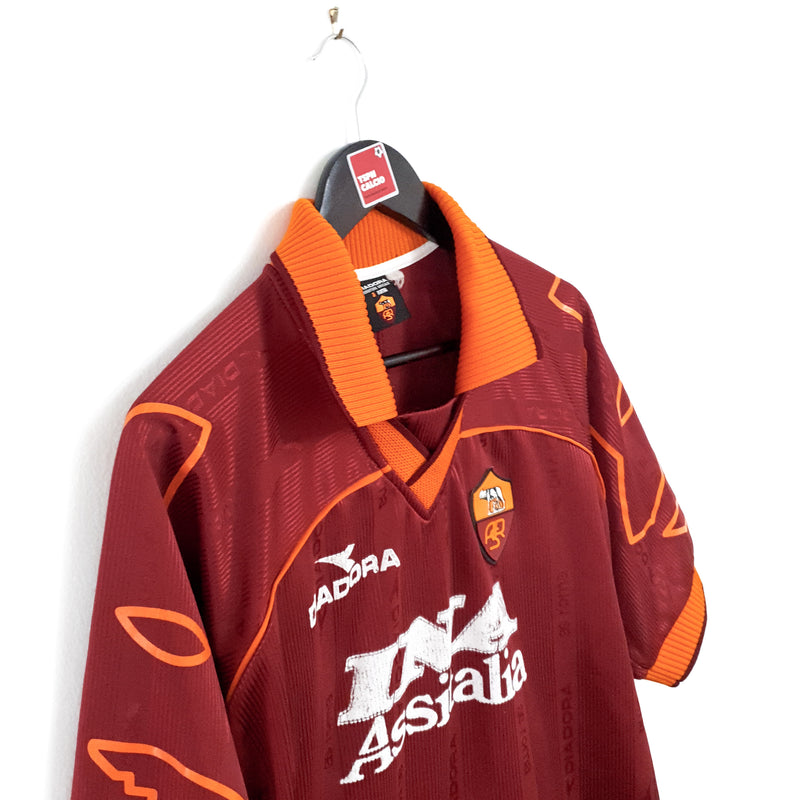 TSPN Calcio - AS Roma home football shirt 1999/00