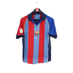 TSPN Calcio - Barcelona home football shirt 2001/02