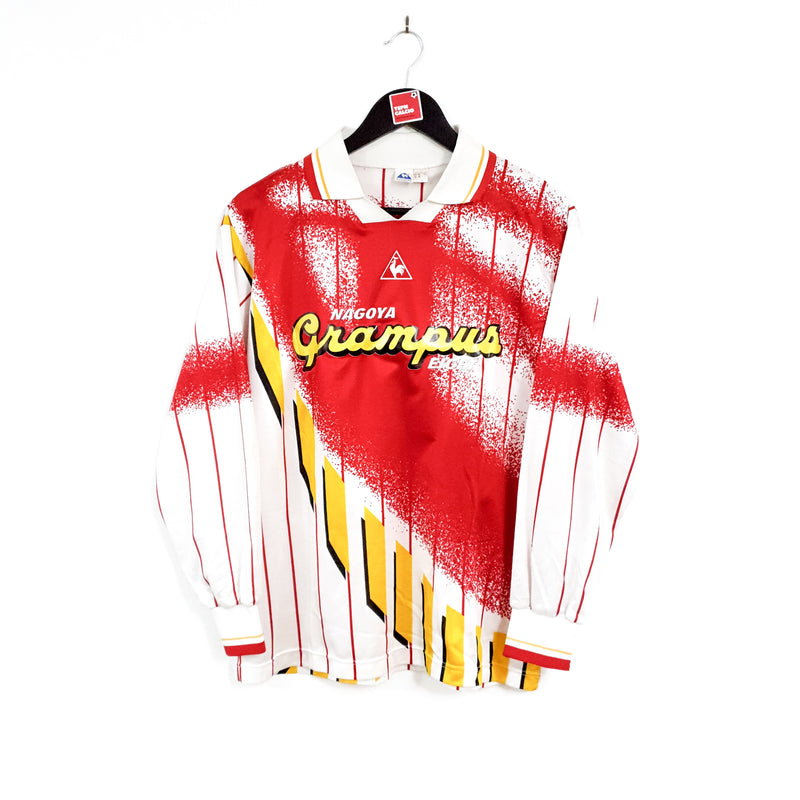 TSPN Calcio - Nagoya Grampus Eight signed cup away football shirt 1995/96