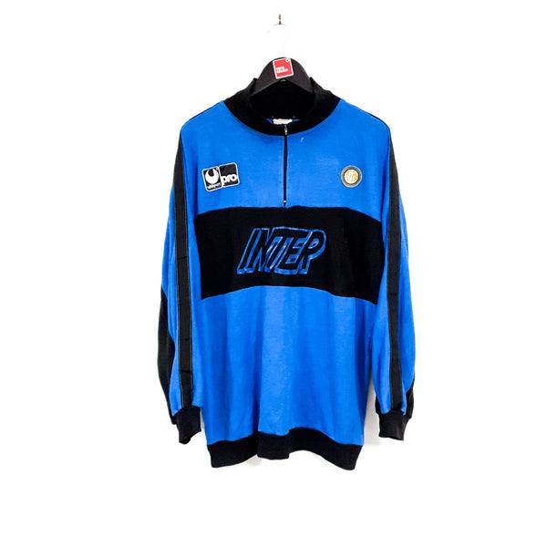 TSPN Calcio - Inter Milan training football sweatshirt 1990/91