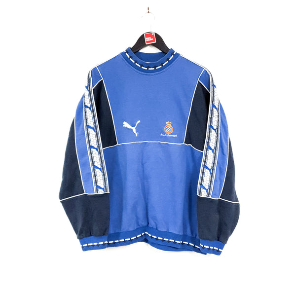 TSPN Calcio - RCD Espanyol training football sweatshirt 1994/96