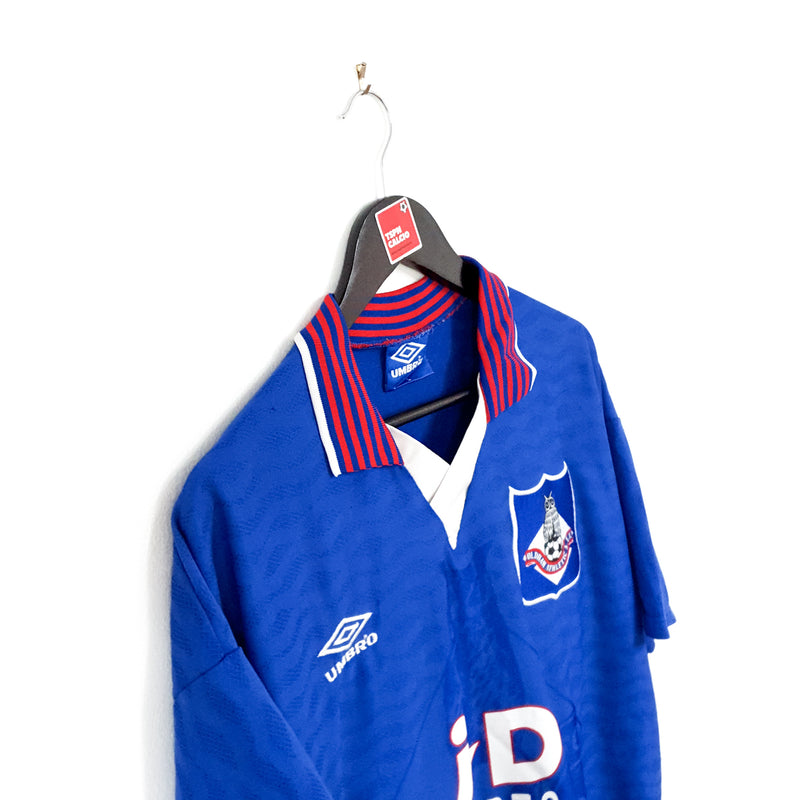 TSPN Calcio - Oldham Athletic home football shirt 1995/96