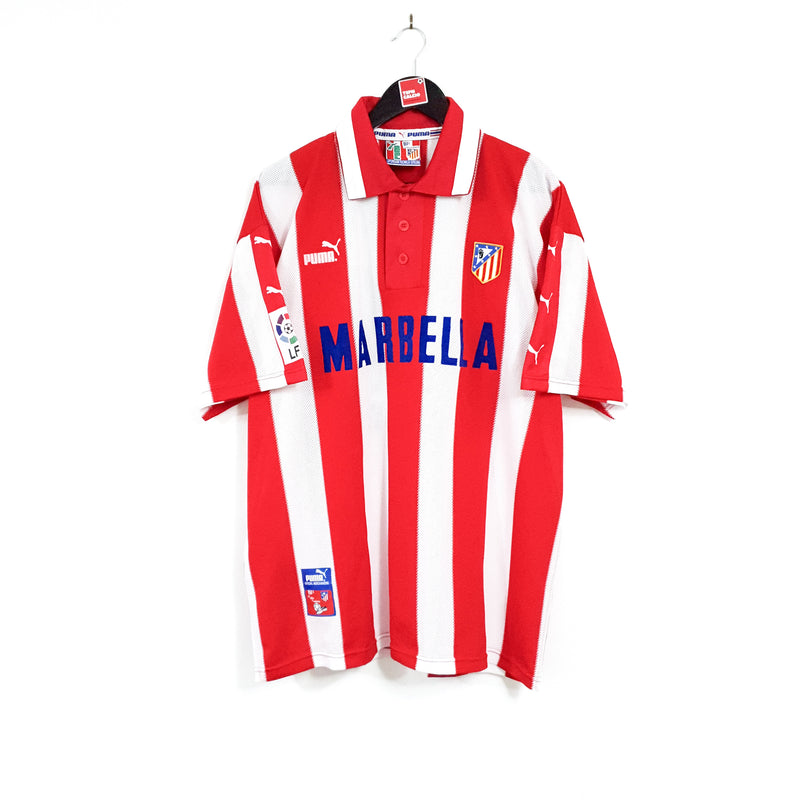 TSPN Calcio - Atletico Madrid home football shirt 1997/98