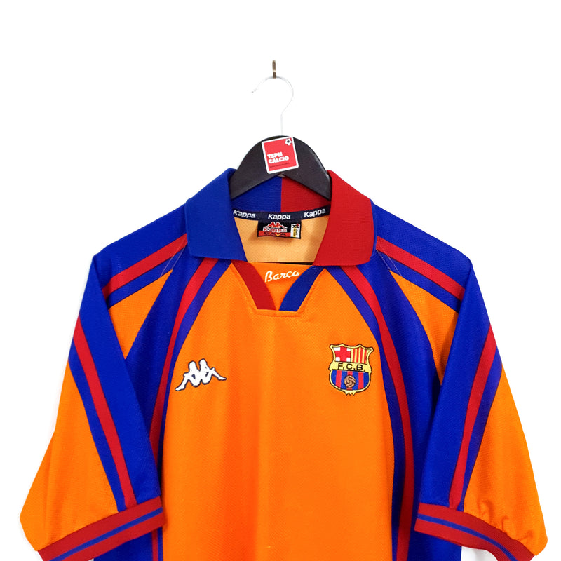 TSPN Calcio - Barcelona european away football shirt 1997/98