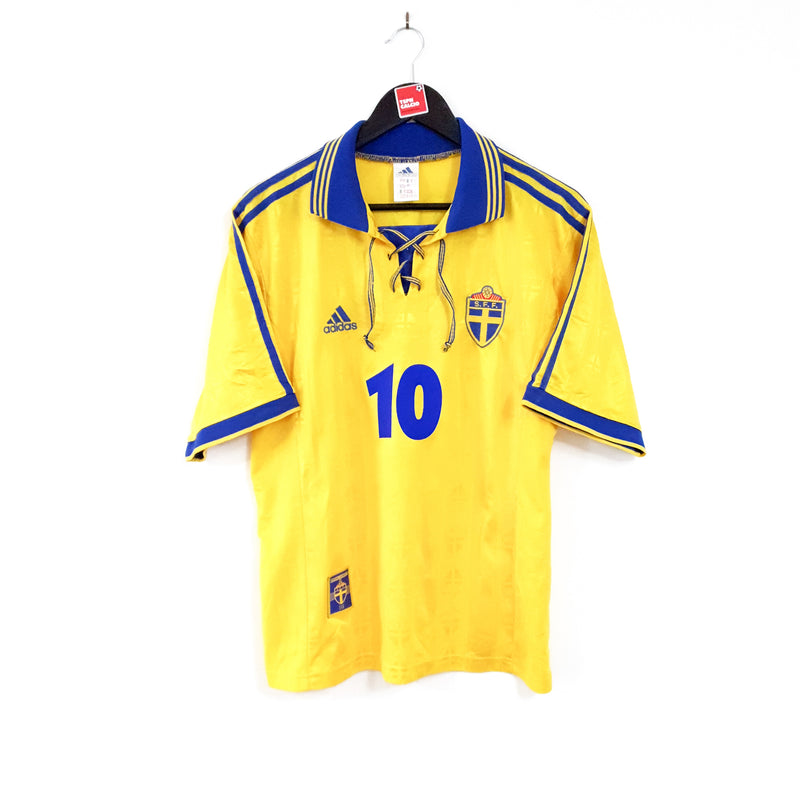 TSPN Calcio - Sweden home football shirt 1998/99
