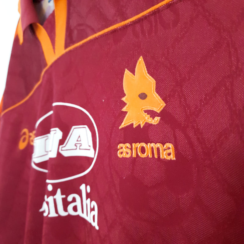 TSPN Calcio - AS Roma home football shirt 1995/96