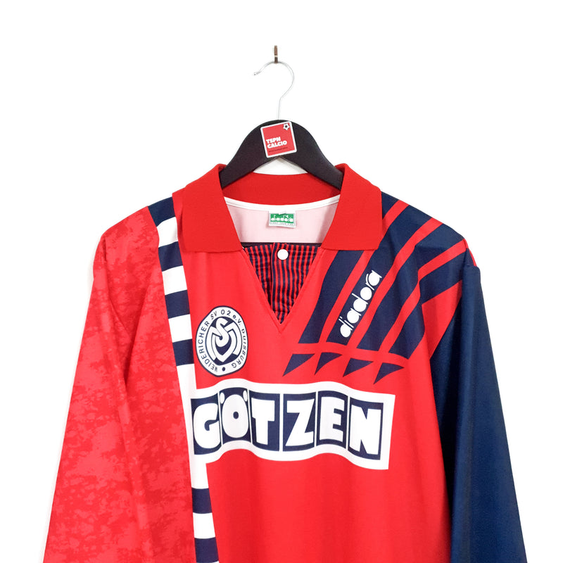 TSPN Calcio - MSV Duisburg away football shirt 1993/95