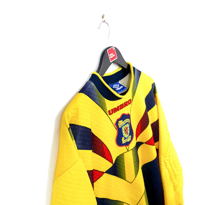TSPN Calcio - Scotland goalkeeper football shirt 1996/98