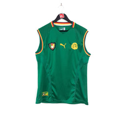 Cameroon home football shirt 2002