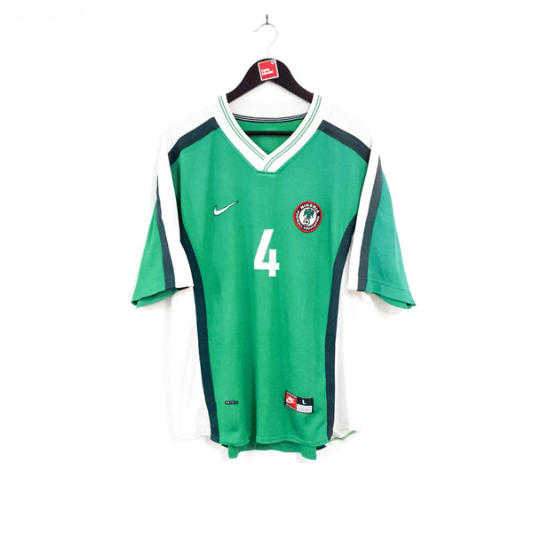 Nigeria home football shirt 1998/00
