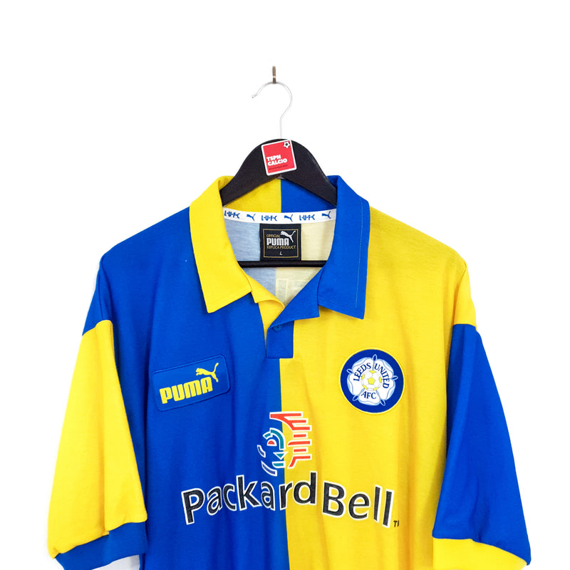 Leeds United away football shirt 1997/99
