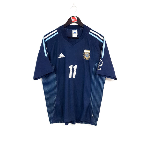 Argentina away football shirt 2002/04